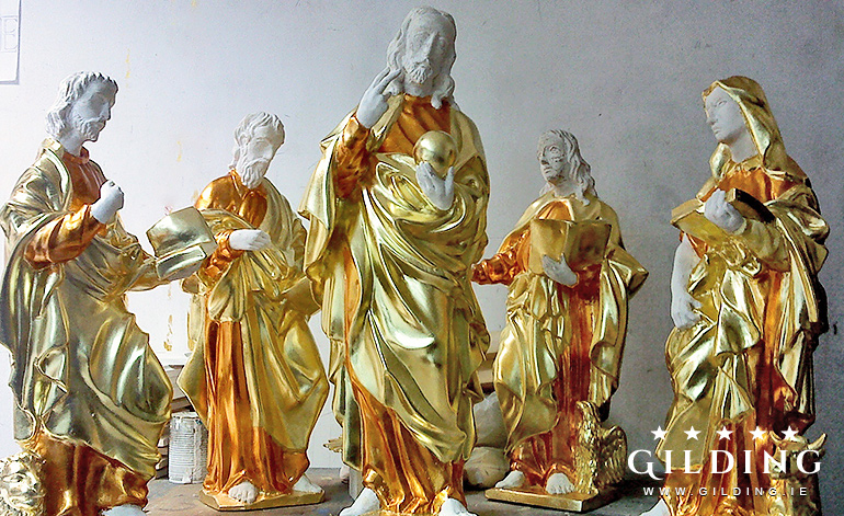 Gilding of Sculpture